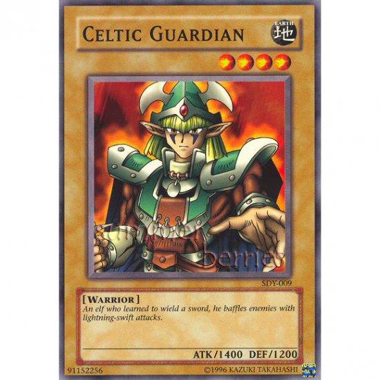 YuGiOh Card SDY-009 - Celtic Guardian [Promo Common]