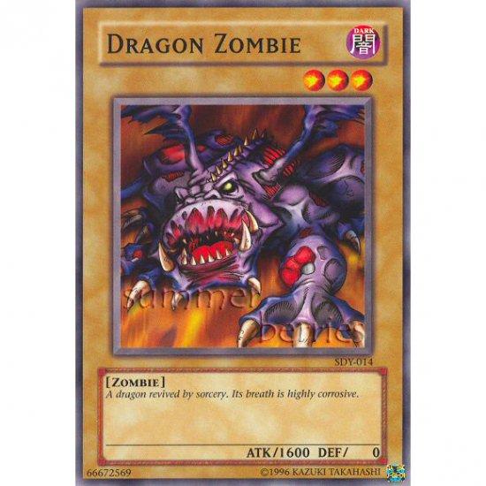 YuGiOh Card SDY-014 - Dragon Zombie [Promo Common]