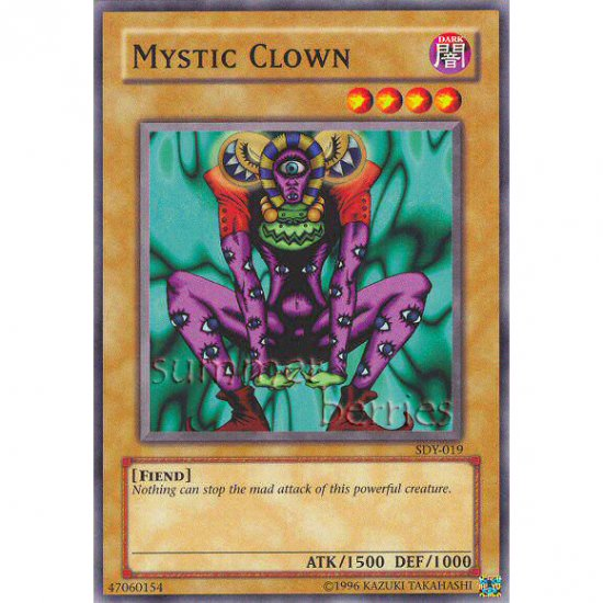 YuGiOh Card SDY-019 - Mystic Clown [Promo Common]