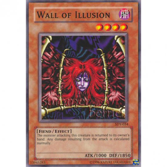 YuGiOh Card SDY-034 - Wall of Illusion [Promo Common]