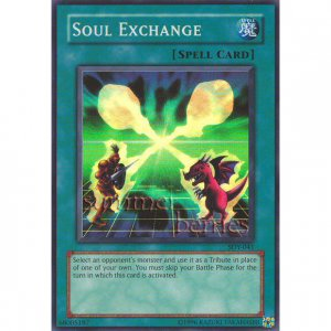 YuGiOh Card SDY-041 - Soul Exchange [Promo Super Rare Holo]