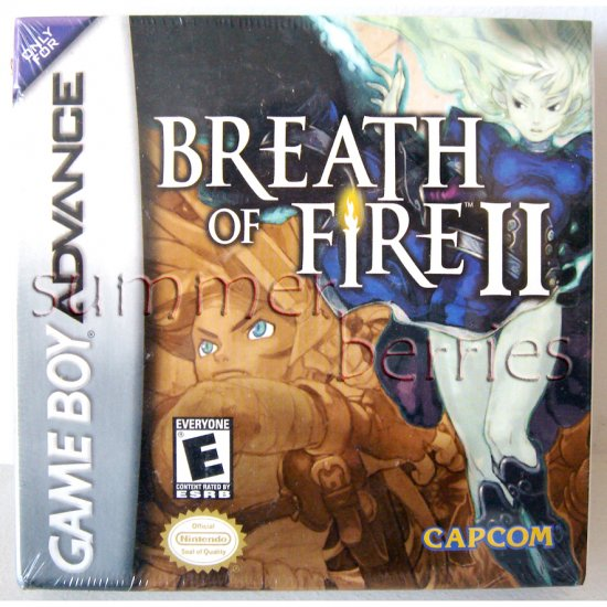 Nintendo Gameboy Advance Game - Breath of Fire 2