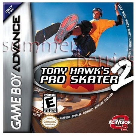 Nintendo Gameboy Advance Game - Tony Hawk's Pro Skater 2