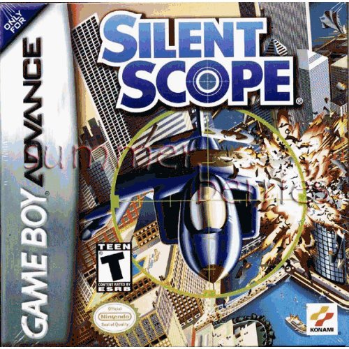 Nintendo Gameboy Advance Game - Silent Scope