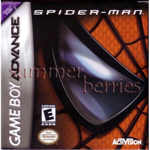 Nintendo Gameboy Advance Game - Spider-Man: The Movie