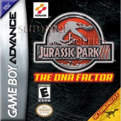 Nintendo Gameboy Advance Game - Jurassic Park III: The DNA Factor
