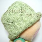 Baby HandKnit Beanie Hat - Mint Green Color
