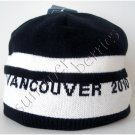 Vancouver 2010 Olympic Adults' Reversible Winter Toque Hat - Black/White