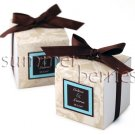 White Square Favor Box / Boxes - 3x3x3 (Set of 10)