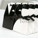 Tuxedo Favor Box Boxes (Set of 10)