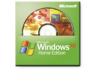 Microsoft Windows XP Home Edition 32-bit (Full Version)