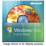 Microsoft Windows Vista Home Basic 32-bit (Full Version)