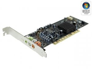 Creative Sound Blaster X-Fi XtremeGamer 7.1 Channels 24-bit 96KHz PCI Interface Sound Card