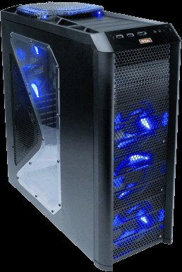 Gaming PC Antec 1200 Intel Core 2 Quad 3.0Ghz SLI