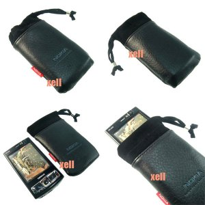 G2 Nokia Bag Pouch Case for N95 8GB N82 N81 N73 5310 5610, Black  **Free Shipping**