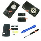 Housing Cover Fascia for Nokia N95, Full Black  **Free Shipping**