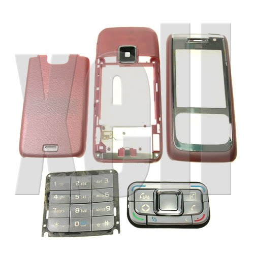 Premium Housing Cover Fascia for Nokia E65, Pink  **Free Shipping**