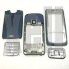 Premium Housing Cover Fascia for Nokia E65, Blue  **Free Shipping**