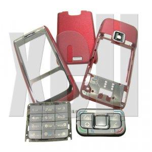 Premium Housing Cover Fascia for Nokia E65, Red  **Free Shipping**