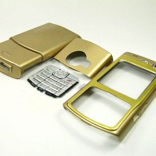 Housing Cover Fascia for Nokia N70, Gold  **Free Shipping**