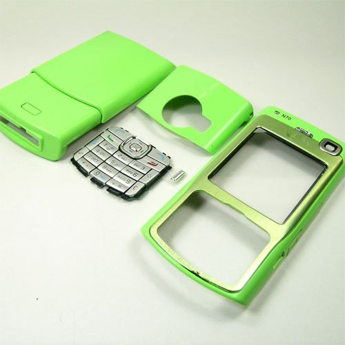 Housing Cover Fascia for Nokia N70, Green  **Free Shipping**