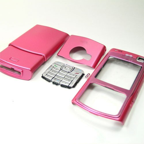 Housing Cover Fascia for Nokia N70, Pink  **Free Shipping**