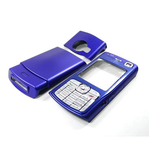Housing Cover Fascia for Nokia N70, Blue  **Free Shipping**