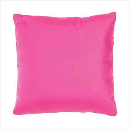 SQUARE PINK PILLOW
