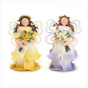 Whimsical Clay Fairies