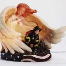 Firemans Guardian Angel Night Light