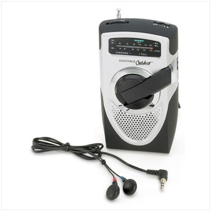 Battery-Free Emergency Radio