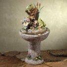 Colorful Frog Garden Fountain