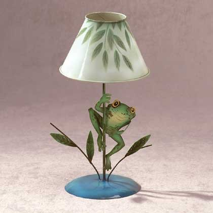 Frog Candle Lamp