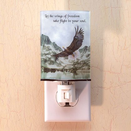 Inspirational Eagle Night Light