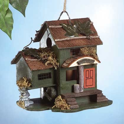 Bed & Breakfast Birdhouse