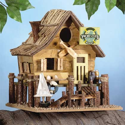 Yacht Club Birdhouse