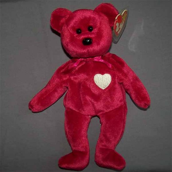 Valentina the Bear Ty Beanie Baby MWMT