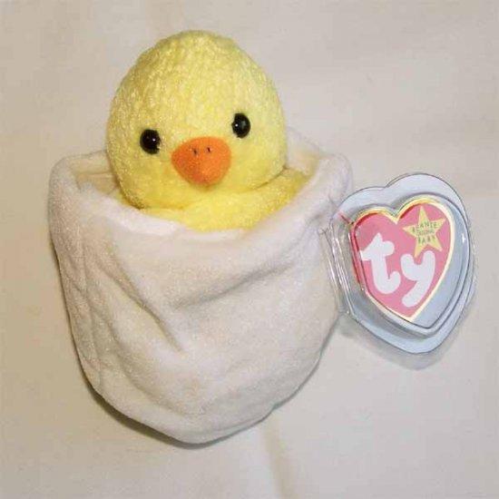 Eggbert the Baby Chick Ty Beanie Baby MWMT