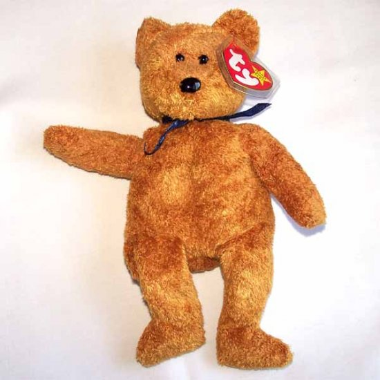 Fuzz the Bear Ty Beanie Baby MWMT