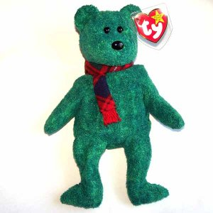 Wallace the Bear Ty Beanie Baby MWMT