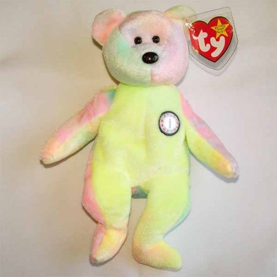 B.B. Bear the Bear Ty Beanie Baby MWMT