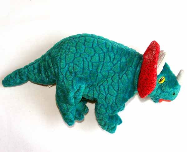 Hornsly the Triceratops Ty Beanie Baby MWMT