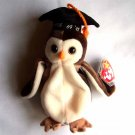 Wise the Owl Ty Beanie Baby MWMT