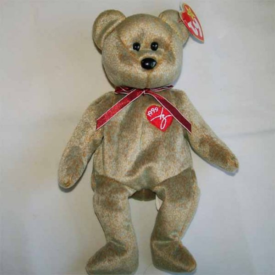 1999 Signature Bear Ty Beanie Baby MWMT