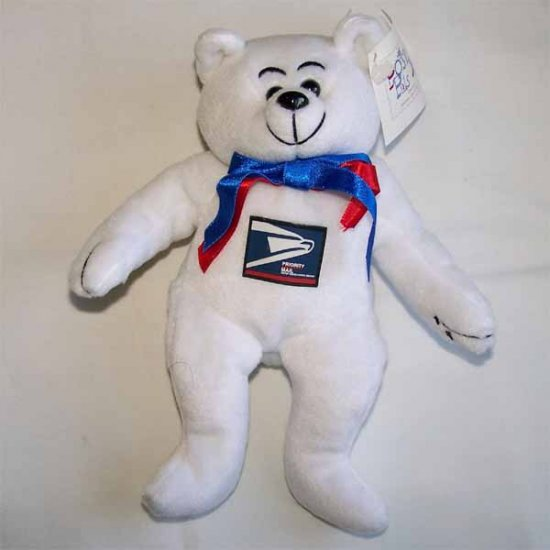 Pronto What's Your Priority US Postal Bear Postal Pals MWMT