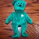 Erin the Irish Bear Ty Beanie Baby MWMT
