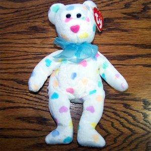 Kissme the Bear Ty Beanie Baby MWMT