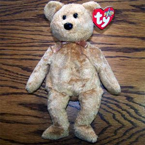 Cashew the Bear Ty Beanie Baby MWMT