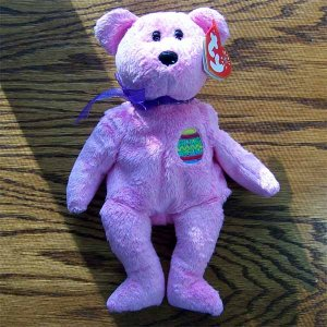 Eggs the Bear Ty Beanie Baby MWMT