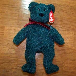 2001 Holiday Teddy Ty Beanie Baby MWMT